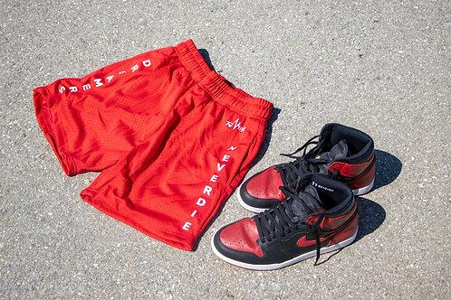 """""""OG RED"""" Hooper Shorts"""