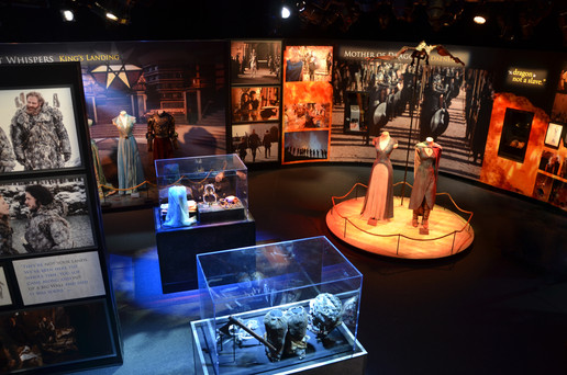 Game of Thrones Traveling Exhibition exhibit design and fabrication