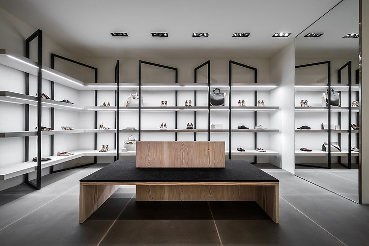Calvin Klein NYC flagship retail interior display fabrication