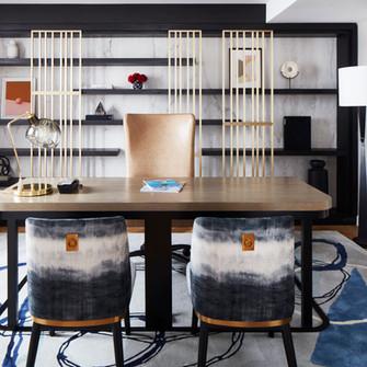 Custom metal fabrication for Luxury NYC Hospitality Property Hospitality Interiors Fabrication