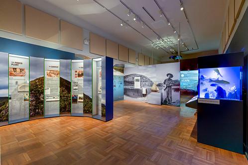 Exhibit fabrication for Hudson Rising exhibit at New-York Historical Society