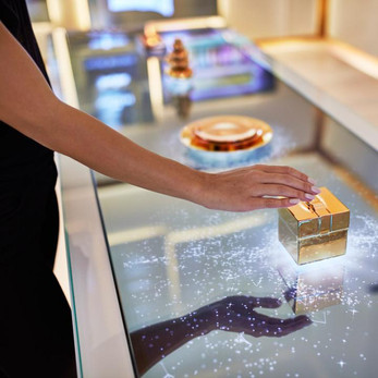 Hudson Yards Experiential Centers 3D printing interactive fabrication