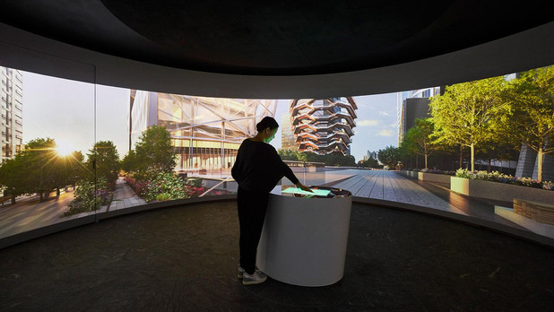 Hudson Yards Experiential Centers interactive fabrication