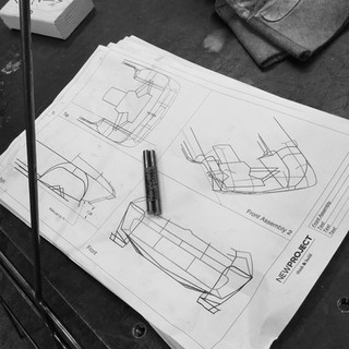 Custom experiential event fabrication drawings