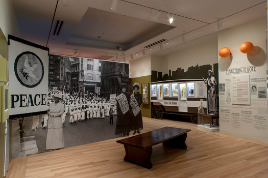 New York Historical Society Hotbed Suffrage Exhibit Fabrication