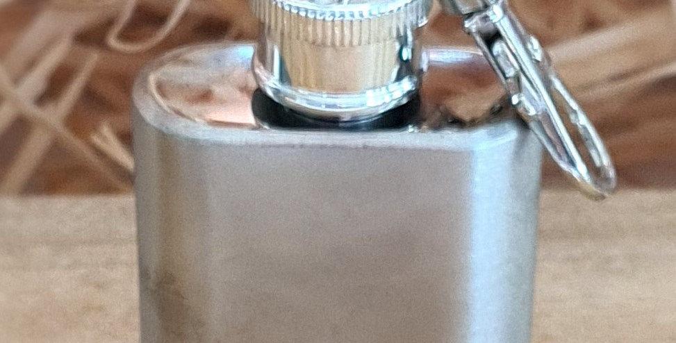 Mini Key Ring Flask - Add Personalised Message