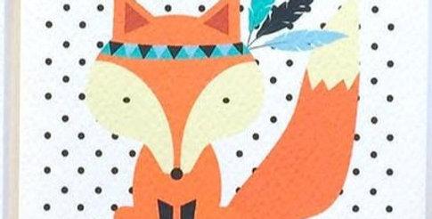Card - Blank Fox