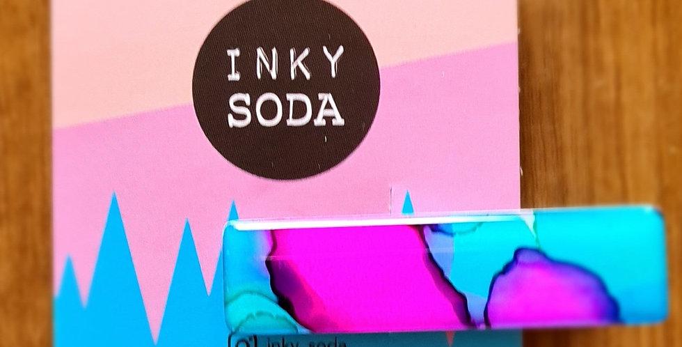 Inky Soda - Hair Clip