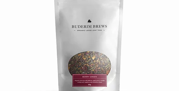 Buderim Brews Tea - Berry Green