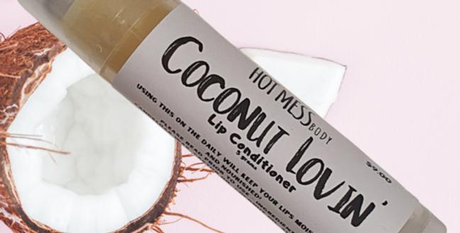 Hot Mess Body - Coconut Lovin Lip Conditioner