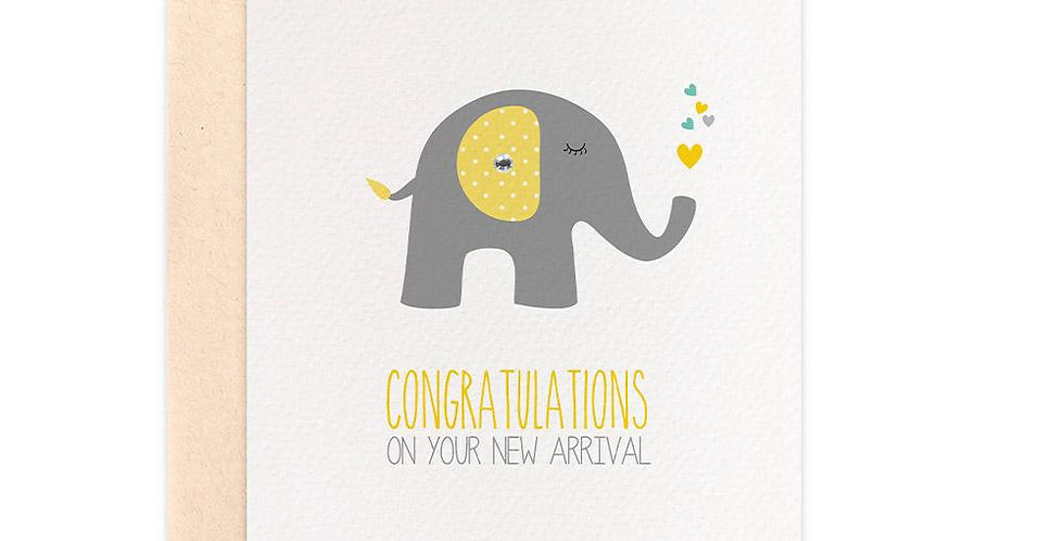 Card - Congratulations on You New Arrival