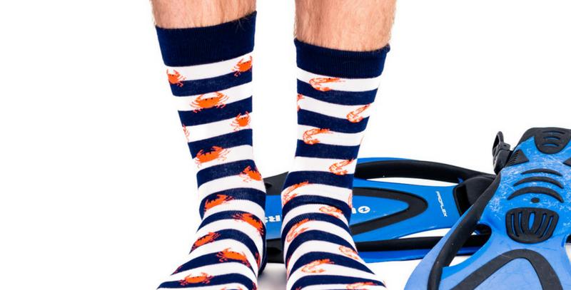 Oddzeez Socks - Seafood Socktail