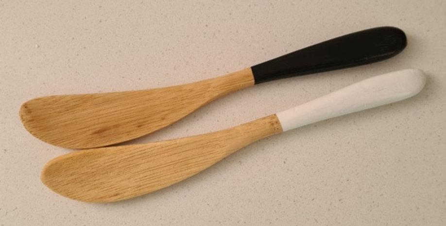 Davis & Waddell - Amhara Bamboo Cheese Knife Set of 2