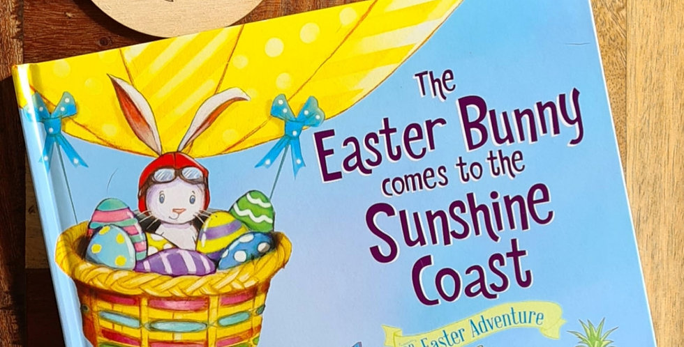 The Easter Bunny comes to the Sunshine Coast - Book