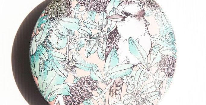 Blushing Ivy - Kookaburra & Banksia Candle - Golden Wattle & Bergamot