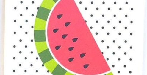 Card - Blank Watermelon