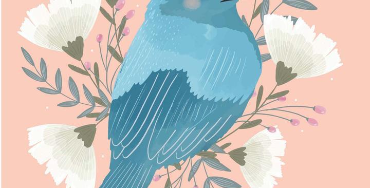 Card - Miss Fleur -  Blank