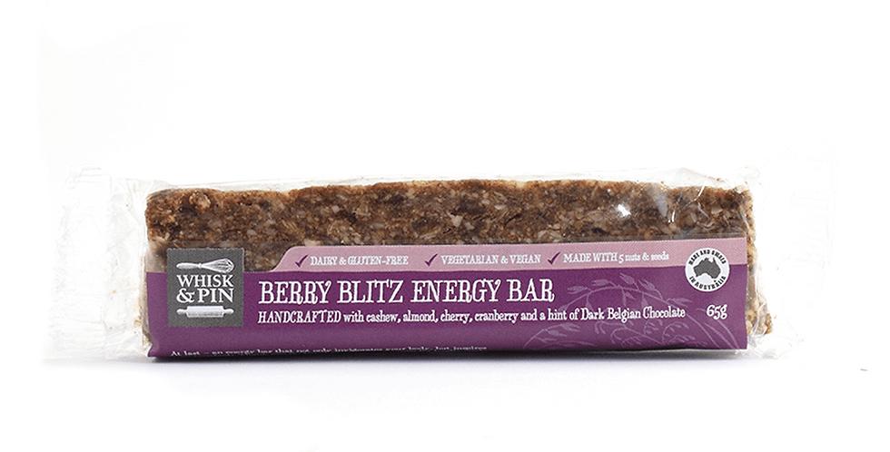 Whisk & Pin Berry Blitz Energy Bar