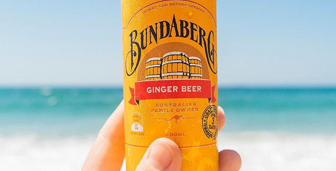 Bundaberg Ginger Beer Mini Can 200ml