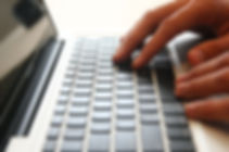 Hands on Keyboard decorative image