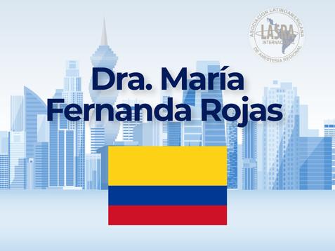 Dra. María Fernanda Rojas - Colombia