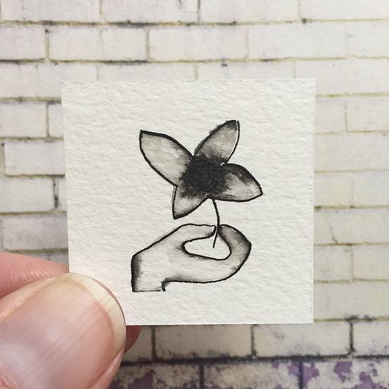 'A single flower ' 2910