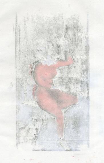Harlequin girl ghostprint