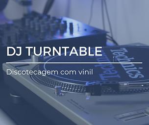 DJ TURNTABLE - Discotecagem com vinil.pn