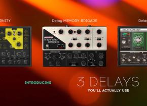 Arturia anuncia o lançamento de 3 novos delays.