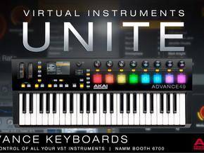 Akai Professional apresenta nova linha de teclados Advance Control.
