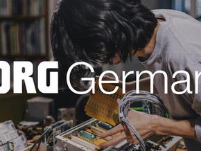 A Korg vai para Alemanha.