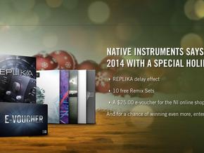 Promoção de natal da Native Instruments oferece 3 presentes FREE neste mês de dezembro.