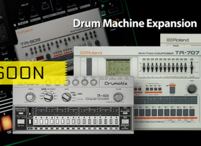 Roland TR-8 ganhará nova expansão da clássica TR-606 Drumatix.