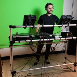 gravação com Chroma Key