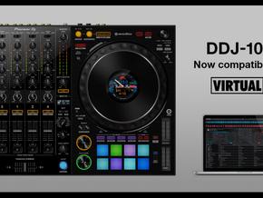 DDJ-1000 agora é oficialmente compatível com VirtualDJ 2021