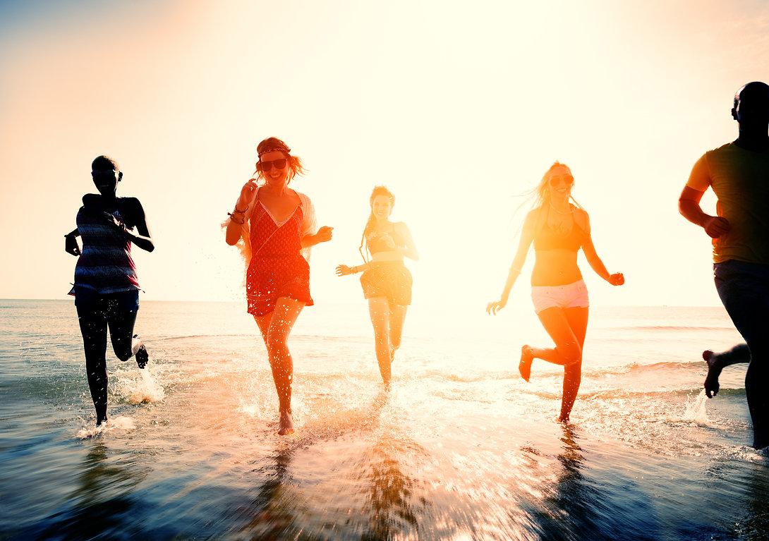 Friendship Freedom Beach Summer Holiday