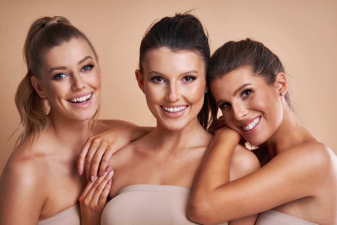 Diverse group of women isolated over background.jpg