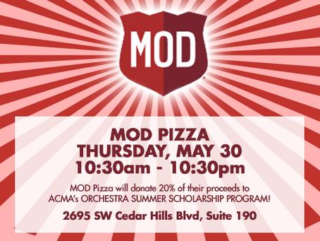 Grab some 'za at MOD Pizza!