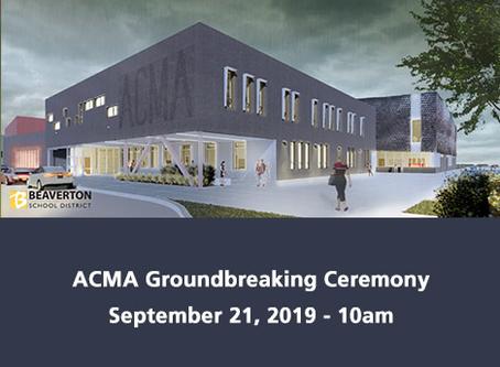 ACMA Groundbreaking Ceremony