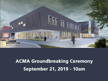 ACMA Groundbreaking Ceremony