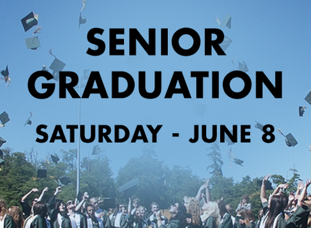 Saturday Senior Graduation