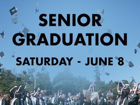 Saturday Senior Graduation