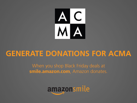 Generate donations for ACMA