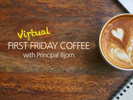 Virtual Coffee with Bjorn - Fri, April 17, 9am