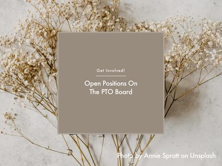 Open PTO Board Positions