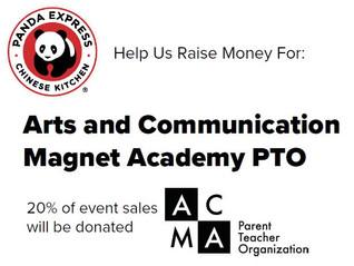 Panda Express PTO Fundraiser: Mon, August 23rd, 10:00am-10:00pm