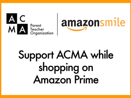 Shop on Amazon Prime, Earn $$ for ACMA