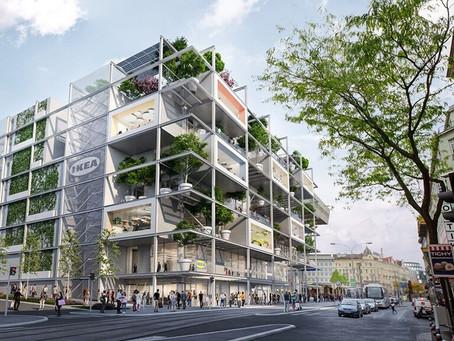 Ikea lässt Wien ergrünen