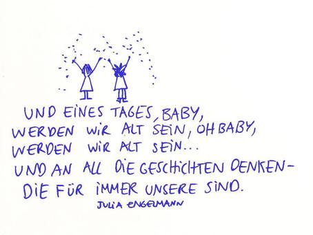 Eines Tages baby...