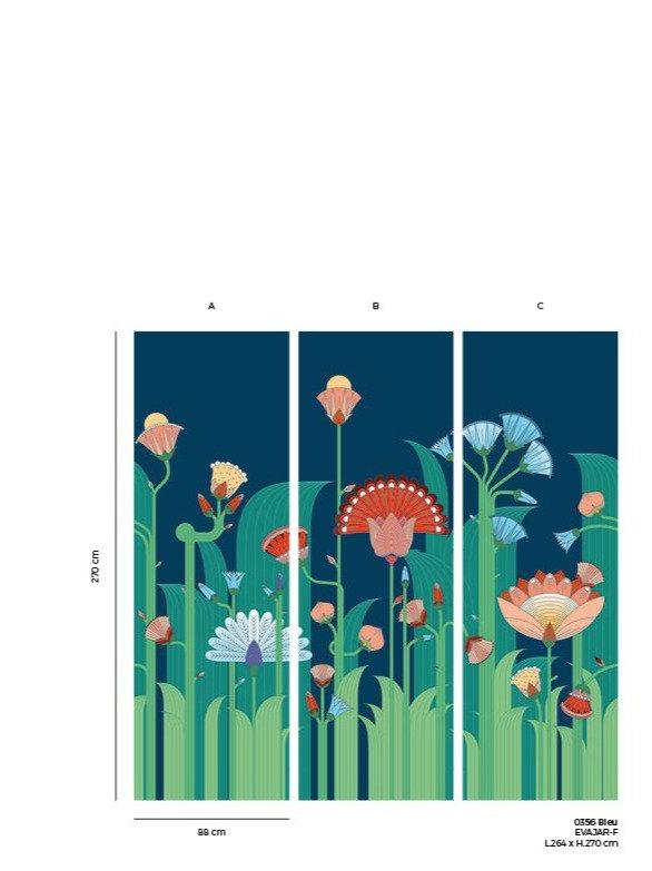 exotic garden wallpaper hellocircus. Black Bedroom Furniture Sets. Home Design Ideas